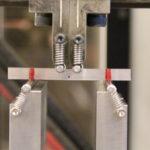 Firepunkts bøyeprøve av aluminium 6082